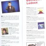 playlist Guillaume Ledoux - mars 2011