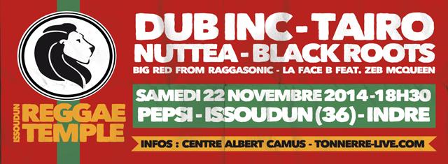 Concours Reggae Temple Issoudun