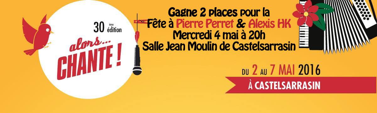Concours Festival «Alors chante !» à Castelsarrasin